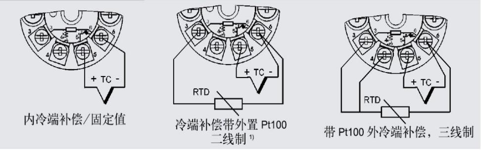 西门子温度变送器接线